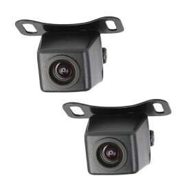 バックカメラ2個セット 広角170度 A0119N×2個セット 42万画素高画質 防水仕様 CMD防水バックカメラ 暗視機能付き LST-A0119NSET