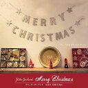 [5個までネコポス可]グリッターガーランド MERRY CHRISTMASクリスマス パーティーグッズ キラキラ ガーランド オーナ…