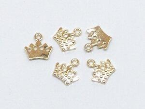 王冠 チャーム 5個入り cha-0487