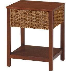 【送料無料】テーブル グランツシリーズ 丁寧に編みこまれたアバカ素材 サイドテーブル
