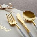 正規品 ディナー 6点 セット 白化粧箱入り 純正リボン掛け ホワイト ゴールド クチポール ゴア GOA ディナーナイフ デ…