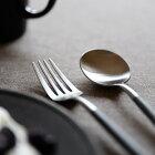 正規品 デザート フォーク・スプーン セット グレー クチポール ゴア GOA デザートフォーク デザートスプーン 各1本 グレー/シルバー Cutipol カトラリー