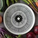 マリメッコ MARIMEKKO 食器 皿 シイルトラプータルハ SIIRTOLAPUUTARHA プレート 25cm 063304 191 ホワイト/ブラック