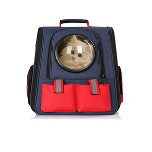 aleawol 猫 キャリー リュック 猫 きゃりーバッグ リュック 大型 折り畳み ペットバッグ 犬猫兼用 宇宙船カプセル型 ねこ ネコ 小型犬 リュックサック ドライブ キャンピング 旅行 通院 災害