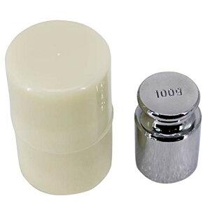 サイズ:100g HFS(R) 分銅 100g 単体 0.1kg はかり 秤用 測定器 おもり 天秤 てんびん 校正分銅 高精度 力学実験 化学 物理学 クロムメッキ 校正グラムスケール M1