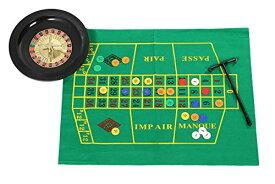 ほうねん堂 ルーレット 卓上 テーブル カジノ ゲーム チップ コイン マット おもちゃ ルーレットマット 付き セット