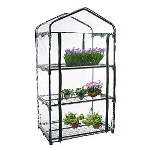 サイズ:3段用 3段用 69*49*126CM PVCビニールハウス ガーデン温室 花園温室 植物の温室 ミニガーデン 温室カバー ホーム温室 フラワースタンド・ガーデンラック・家庭菜園・温室 替えカバー 3/