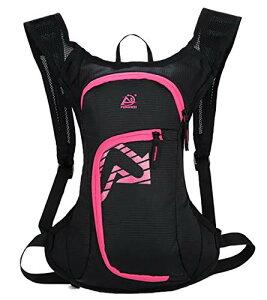 色:ピンク サイズ:Free Size [キャプテン・ケイ] ハイドレーション 対応 サイクル リュック 軽量 ランニング サイクリング バックパック