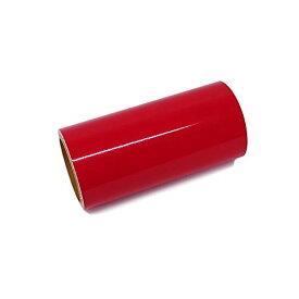 色:赤 サイズ:200mm×10m ステカ SV-8 サイズ 中期用屋外耐候4年カッティング用シート (200mm10m ステカ SV-8 サイズ, 赤)