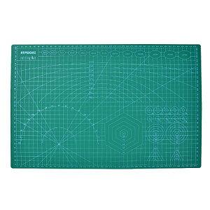 ATPWONZ カッターマット A3 カッティングマット 5層シート構造 両面印刷 傷自動癒合機能 3004503mm グリーン