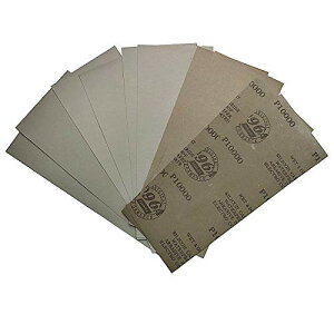 YONIK 耐水ペーパーセット サンドペーパー 紙やすり 超精密 15枚入り (各3枚 3000 4000 5000 7000 10000)