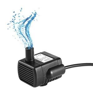 色:180L/H LEDGLE 水中ポンプ 小型ポンプ ミニ 排水ポンプ 池ポンプ 水槽 循環ポンプ 潜水ポンプ USB給電 静音 揚程 1M DC5V 吐出量180L/H