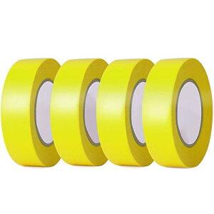 LEOBRO 塗装用マスキングテープ 4巻入 耐熱 18mm20m グリーン 自動車 車両塗装養生テープ 綺麗に剥がせる DIY 仮止め用 モデル塗装用