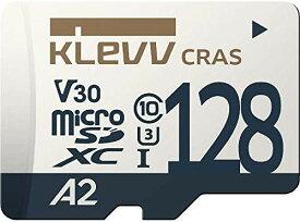 サイズ:128GB KLEVV microSDXC 128GB UHS-I U3 V30 A2 最大読込:100MB/s 4K対応 Nintendo Switch 動作確認済 K128GUSD6U3-CA