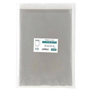 色:透明(1000枚) OPP袋 A4 テープ付 国産 透明 封筒 225x310mm 1000枚入 T-A-4