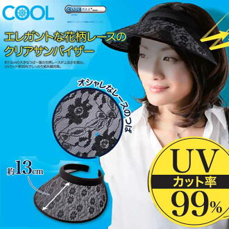 It is / gift / present / sunlight / in UV sun visor / Lady's / face / neck / fashion / design / cute / popularity / actress / entertainer / ultraviolet rays measures / shading / saliva / elegant / compact /UV cut / Kool / Mother's Day with the COOL race