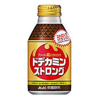 asahidodekaminsutorongubotoru罐300mL*24条(朝日饮料)把和瓜氨酸,精氨酸不仅各种维生素,蜂王浆而且混合的能源饮料