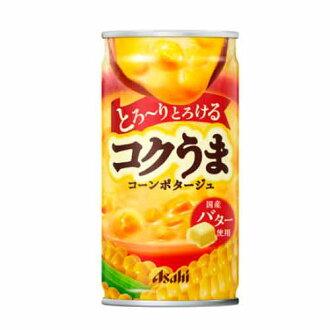 朝日新闻丰富鲜味玉米羹汤罐 185 g × 24 (朝日软饮料)