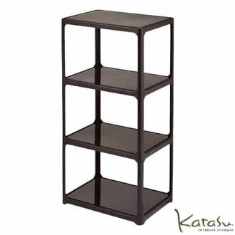 Katasu ( catastrophe ) color box open rack 4-stage / storage and small  furniture basket/kitchen/laundry/chest / toy / children's room / clothing /