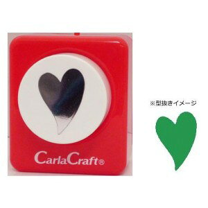 Carla Craft(カーラクラフト) ミドルサイズ クラフトパンチ スィートハート クラフトパンチ 型抜き 文具 大 星 丸 サークル