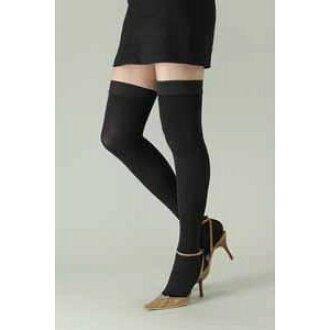 1396b5280a8 Lifetech foods and cosme  Medical elastic stockings Rex fit thick stockings  toes and medium pressure M   swelling   firmer leg fatigue and health slim  socks ...