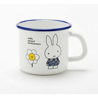 Miffy 미 피의 찻잔 9cm 미 피의 & 꽃 MFN-9MG/1
