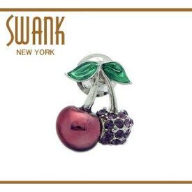 SWANK(スワンク) フルーツのピンズ(サクランボ) 直送品・送料無料・代引き不可