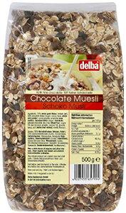 delba チョコレート ミューズリー 500g