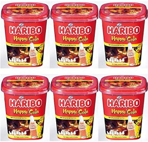 【500円OFFクーポン配布中!】【あす楽 対応】 ハリボー ハッピーコーラ カップ 175g×6個セット 輸入菓子 HARIBO