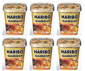 【500円OFFクーポン配布中!】【あす楽 対応】 ハリボー ゴールドベア カップ 175g×6個セット 輸入菓子 HARIBO