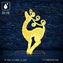 業務用 イルミネーション モチーフ 3D クリスマスト 屋外 防雨 LEDクリスタルグローファンシートナカイ ゴールド