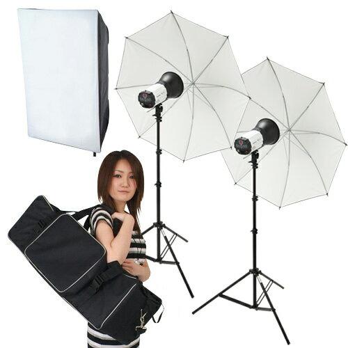 ライトグラフィカ 「ソク撮」デジタル250Wストロボ2灯セット