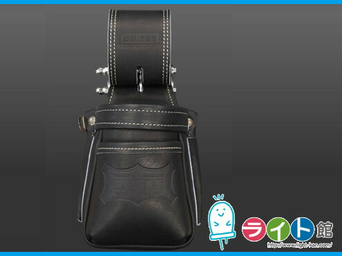 KNICKS ニックスグローブ革 小物腰袋(VAストリッパーフォルダー)KGB-201VADX(ブラック)