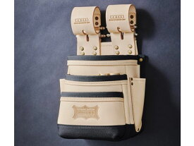 KNICKS ニックス KNB-301DDX/総ヌメ革使用3段腰袋(チェーンタイプ)/バリスティック補強仕上げ