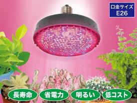すくす〜くLEDランプ(植物育成用用/屋外用) ジェフコム PSL160W-E2601-RB