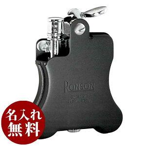 RONSON ロンソン フリントオイルライター バンジョー Banjo バンジョー 黒マット R01-1027 適合リフィル(ガス or オイル)1本無料進呈