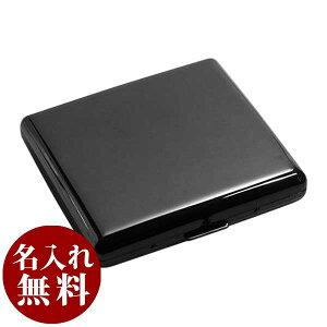 シガレットケース CASUAL METAL CASE カジュアルメタル20(85mm) BK 1-95307-51 メール便可