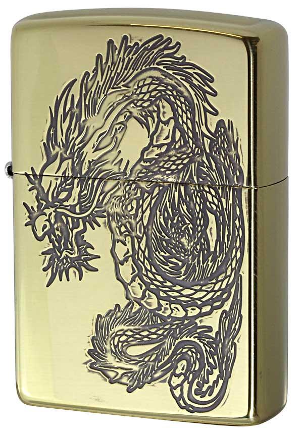 Zippo ジッポー 和柄 龍 Japanese pattern Dragon 2BS-WDR3 zippo ジッポ ライター オプション購入で名入れ可