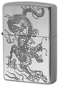 Zippo ジッポー 和柄 龍 Japanese pattern Dragon 2SV-WDR2 zippo ジッポ ライター オプション購入で名入れ可