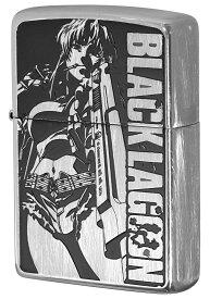 Zippo ジッポー キャラクター ブラックラグーン BLACK LAGOON Ver.2 A柄 レヴィ zippo ジッポ ライター オプション購入で名入れ可