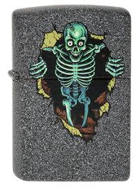 Zippo ジッポー Skull Wall 2003837 zippo ジッポライター オプション購入で名入れ可 メール便可