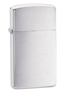 Zippo ジッポー スリムタイプ No.1600 クロムメッキ サテーナ仕上げ Zippo ジッポー zippo ジッポライター オプション購入で名入れ可 メール便可