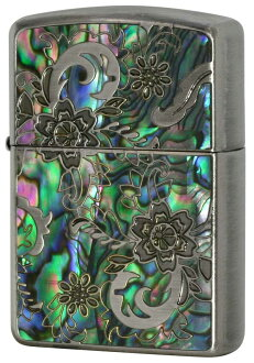 Zippo AN-B zippo Zippo lighters Zippo Mosaic Shell mosaic shell bought in name put-friendly