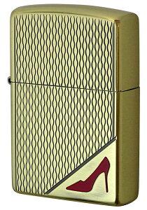 Zippo ジッポー セクシー RED High heels レッドハイヒール BO zippo ジッポ ライター オプション購入で名入れ可 メール便可