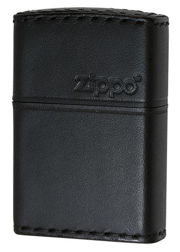 Zippo ジッポー REAL LEATHER 本革巻き B-5 zippo ジッポライター オプション購入で名入れ可