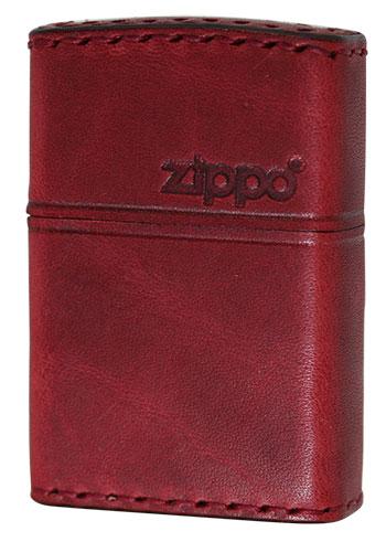 Zippo ジッポー REAL LEATHER 本革巻き RD-5 zippo ジッポライター オプション購入で名入れ可