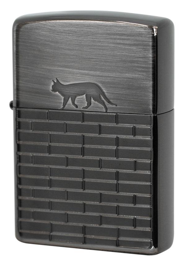 Zippo ジッポー CAT WALKS 2BN-CATW zippo ジッポライター オプション購入で名入れ可
