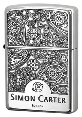 Zippo ジッポー Simon Carter サイモン・カーター SCP-018 zippo ジッポライター オプション購入で名入れ可