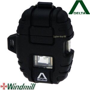 Windmill DELTA ウインドミル デルタ ターボライター ブラック【日本製】【送料無料】