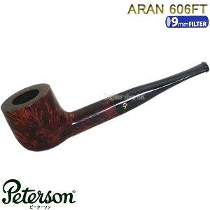 Peterson ピーターソン マドロスパイプ アラン 606 FT【9mmフィルター1個を装着してお届け】【送料無料】